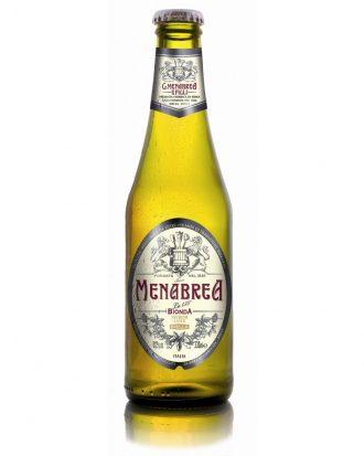 BIRRA MENABREA Lager Bottles